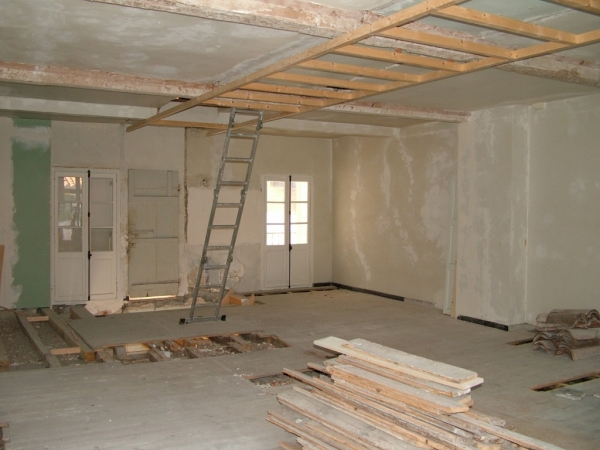House renovation in Franve